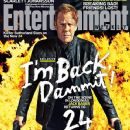 Kiefer Sutherland - Entertainment Weekly Magazine Cover [United States] (11 April 2014)
