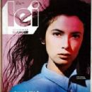 Linda Spierings - LEI Magazine Cover [Italy] (January 1985)