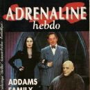 Anjelica Huston - Adrenaline Hebdo Magazine Cover [France] (April 1992)