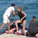 Gigi Hadid in Bikini on holidays in Mykonos