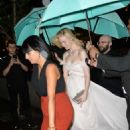 Elle Fanning – Arriving to the Tiffany Paper Flowers Event in New York