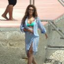 Beyoncé Knowles - Beyonce On The Beach In Monaco 13 May 2009