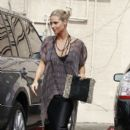 Heidi Klum: at therapy in Los Angeles