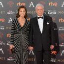 Isabel Preysler and Mario Vargas Llosa- Goya Cinema Awards 2016