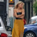 Charlotte McKinney – On set of a photoshoot in NYC - 454 x 681