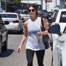 Ashley Greene – Leaves the gym in Studio City