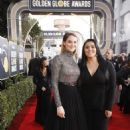 Shailene Woodley and Calina Lawrence At The 75th Golden Globe Awards (2018) - 454 x 681