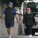 Nancy Grace and David Linch