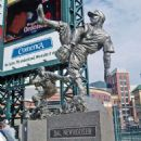 The Hal Newhouser Statue at Comerica Park In Detroit
