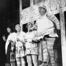 A FUNNY THING HAPPENED ON THE WAY TO THE FORUM 1962 Original Broadway Cast Starring Zero Mostel - 454 x 576