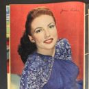 Joan Leslie - Screen Guide Magazine Pictorial [United States] (February 1945) - 454 x 605