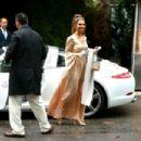 Maria Menounos – Arrives at Khloe Kardashian's Baby Shower in LA - 454 x 303