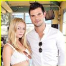 Billie Catherine Lourd and Taylor Lautner - 300 x 300