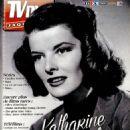 Katharine Hepburn - TV Dvd Jaquettes Magazine Cover [France] (July 2015)