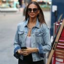 Alesha Dixon – Out and about in London