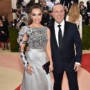 Thalia and Tommy Mottola- 'Manus x Machina: Fashion In An Age of Technology' Costume Institute Gala - Arrivals - 399 x 600