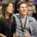 Kiele Sanchez and Zach Gilford - 400 x 282