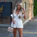 Amber Turner – Out and about in Essex - 454 x 725