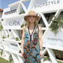 Jennifer Morrison Popsugar and Cfda Brunch With Mara Hoffman In Palm Springs