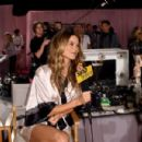 Behati Prinsloo 2014 Victorias Secret Show Backstage In London