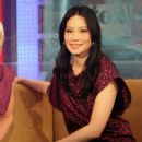 """Lucy Liu Visits """"FOX & Friends"""""""