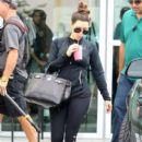Kim Kardashian: stops by a Body & Soul gym for a workout in Miami