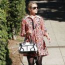 Dianna Agron: showed up at a Los Angeles polling location