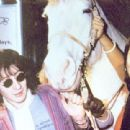 Julian Lennon's birthday - her present to him was a horse
