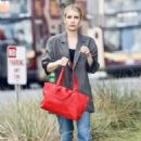 Emma Roberts – Looks casual while out in Beverly Hills
