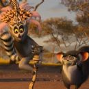 """(Left to right) SACHA BARON COHEN as King Julien and CEDRIC THE ENTERTAINER as Maurice in DreamWorks' """"Madagascar: Escape 2 Africa."""" Photo credit: Madagascar: Escape 2 Africa ™ & © 2008 DreamWorks Animation L.L.C. All Rights Reserved."""