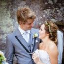 Rebecca Breeds and Luke Mitchell's Wedding - 236 x 353