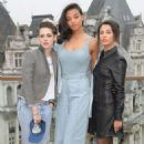 Kristen Stewart Naomi Scott Elizabeth Banks and Ella Balinska – 'Charlie's Angels' Photocall in London