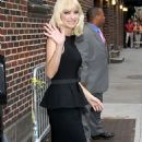 "Anna Faris Drops By ""The Late Show"""
