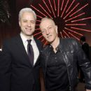 Brian J. Monaco and Phil Collen of Def Leppard attend the Sony Music Entertainment 2020 Post-Grammy Reception at NeueHouse Hollywood on January 26, 2020 in Los Angeles, California