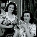 Beverly Lloyd & Peggy Stewart 1945 - 454 x 448