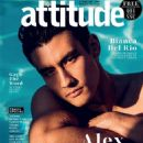 Alex Landi - Attitude Magazine Cover [United Kingdom] (February 2019)