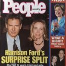 Harrison Ford and Melissa Mathison - People Weekly Magazine Cover [United States] (7 September 1998)