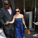Alyssa Milano – Leaves her hotel in New York City - 454 x 439