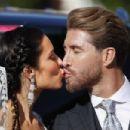 Sergio Ramos and Pilar Rubio Wedding - 454 x 303