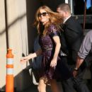 Isla Fisher – Arriving at 'Jimmy Kimmel Live' in Hollywood October 21, 2016 - 454 x 681