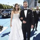 Justin Timberlake and Jessica Biel : 70th Emmy Awards - 454 x 568