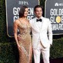 Irina Shayk and Bradley Cooper At The 76th Golden Globe Awards (2019) - 400 x 600