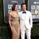 Irina Shayk and Bradley Cooper At The 76th Golden Globe Awards (2019)