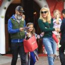 Busy Phillips goes holiday shopping with her family at The Grove in Los Angeles, California on December 10, 2016 - 437 x 600