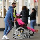Katie Price – Is seen at the Chelsea and Westminster hospital - 454 x 348