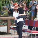 Kourtney Kardashian: take her son Mason to the Everglades Safari Park for an airboat ride in Miami