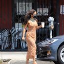 Vanessa Hudgens – Looks Stylish in a maxi dress in Los Angeles