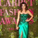 Cindy Crawford – Green Carpet Fashion Awards 2018 in Milan