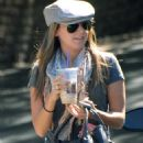 Ashley Tisdale Arrives For Rehearsals In Hollywood, 2008-09-23