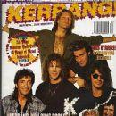 Alec John Such, Jon Bon Jovi, Richie Sambora, Tico Torres, David Bryan - Kerrang Magazine Cover [United Kingdom] (25 June 1994)